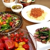 ☆ホタルイカ☆トマトたくさん☆美味しい晩酌☆