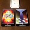 今週末と来週をあらわすカードは参加、アドバイスカードは精神分裂、アロハウハネカードは叡智でした