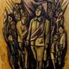 ギャラリー川船の『8月15日「光と影の展示会」』を見る