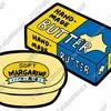 バターとマーガリンの違い