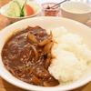大阪「洋食屋ダイニングテーブル」肉がうまいハヤシライス