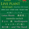 12/22(土)Live Plant 出演者紹介⑦ Tea☆SQUARE