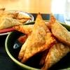 【雑穀料理】余ったシュウマイの皮を美味しくアレンジ!ひとくち三角春巻きの作り方・レシピ【車麩】