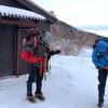 12月の空木岳登山② 空木平避難小屋から空木岳、檜尾避難小屋