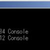 Windows10 実行中のプログラムを1秒ごとに255回表示するバッチファイル(tasklist_forever.bat)