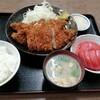 西川口の「あおき食堂」さんでチキンカツ定食を食べました★