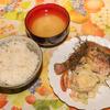 鶏モモのハーブ焼きとポテトサラダ