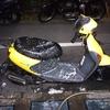 #バイク屋の日常 #レッツ4 #洗車 #寒過ぎる