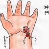 心経(HT)7 神門(しんもん)