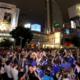 【6月19日】W杯、渋谷スクランブル交差点は大混雑DJポリス|コロンビア戦