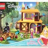 【開封レビュー】レゴ LEGO ディズニープリンセス オーロラ姫の森のコテージ 43188