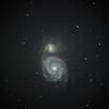400万光年先に M51 りょうけん座 Arp85