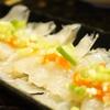 ショウサイフグ料理③ポン酢で刺身&干物