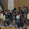 3年生:学習発表会の体育館練習