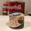 キャンベル缶のクラムチャウダーて作るシチューがあっさりしていて美味しい【クラムチャウダー/キャンベル】