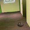 教材で使えるかも:アイロボットジャパンのオフィスでは、当然ルンバとブラーバが働いていました