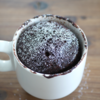 電子レンジで2分!ショコラマグカップケーキの作り方|Chocolat Mug Cake Recipe