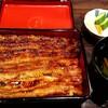 うなぎ魚政にうなぎを食べに行きました。