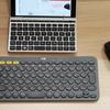 丸いカタチのキーがオシャレなロジクールのワイヤレスキーボードが使いやすい。