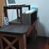 自作でスタンディングデスクにしました!肩こり軽減+椅子の断捨離もできる