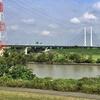 荒川を歩く その5 笹目橋から羽根倉橋まで