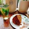 ソウル女ひとり旅はおしゃれカフェに!弘大(ホンデ) VER'S GARDEN はキャロットケーキがオススメ。