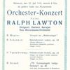 1931年のプログラム