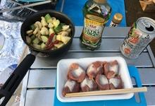 キャンプで砂肝を調理したら、アヒージョも串焼きも最高に美味しかった