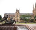 ネオゴシック建築・シドニーセントメアリーズ大聖堂の観光レポート・アクセス方法