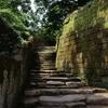 仙巌園、石段
