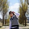 富山美少女図鑑 撮影会! ─ 環水公園 2021年4月10日 NARUHAさん その22 ─