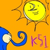 マヤ暦 K51【青い猿】のびのび過ごす