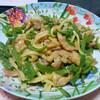 今日の晩飯 青椒肉絲と中華風コーンスープを作ってみた