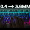 【Apex Pro TKL レビュー】間違いなく過去最高の機能性!SteelSeriesから最高性能のテンキーレスキーボードが発売されたので早速使ってみた!