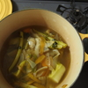 冷凍保存で野菜くずを最後まで使い切る!ベジタブルブロスの作り方
