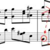 ショパンピアノソナタ3番4楽章〜循環部A1〜分析
