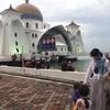 マレーシア初心者の観光【マラッカ】水上モスク・ナイトマーケット・トライショー