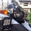 R1200GS-A(空冷) ヘッドライトプロテクターとフォグの取り付け