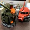 ガンダムヘッドを組み立てる(ザクヘッドも)【機動戦士ガンダム EXCEED MODEL GUNDAM HEAD】