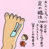 足の臨泣(あしのりんきゅう)へのつぼ押しで偏頭痛を楽にしよう