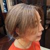 白髪ぼかしはカラーバリエーションが豊富!季節に合ったハイライトを入れて着替える髪色