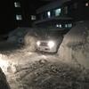 大雪!!出れなくて良い。ただ車を止めたい。