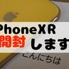 iPhoneXR開封の儀!2018年最新iPhoneが届いたので開封!自分で機種変(SIMカード移動)もしました!