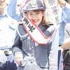岡井千聖さんが地元埼玉県所沢警察署の一日警察署長に就任!