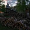 「森のお遊び会」の準備