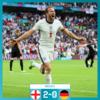 #欧州選手権 決勝T1回戦 イングランド対ドイツ 結果まとめ