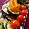 ビーフカレーと焼き野菜(おまけ:歯の妖精)