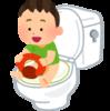 子供がトイレでうんちができるようになりました