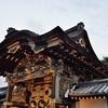 唐門のライトアップ。西本願寺で観賞。