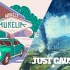 【PC】Epic Gamesストア、『Just Cause 4』と『Wheels of Aurelia』が無料ダウンロード開始!期間は4月24日まで